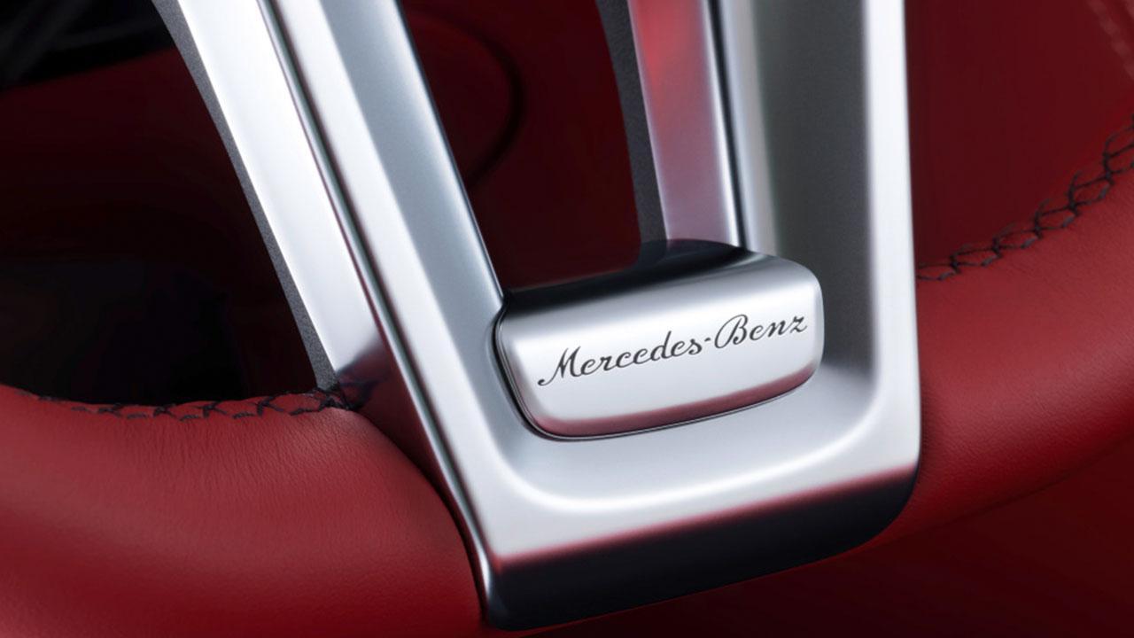Mercedes-Benz SL-Klasse - Schriftzug
