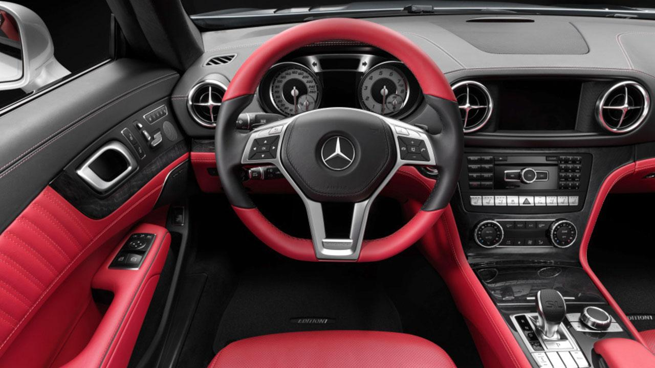 Mercedes-Benz SL-Klasse - Cockpit