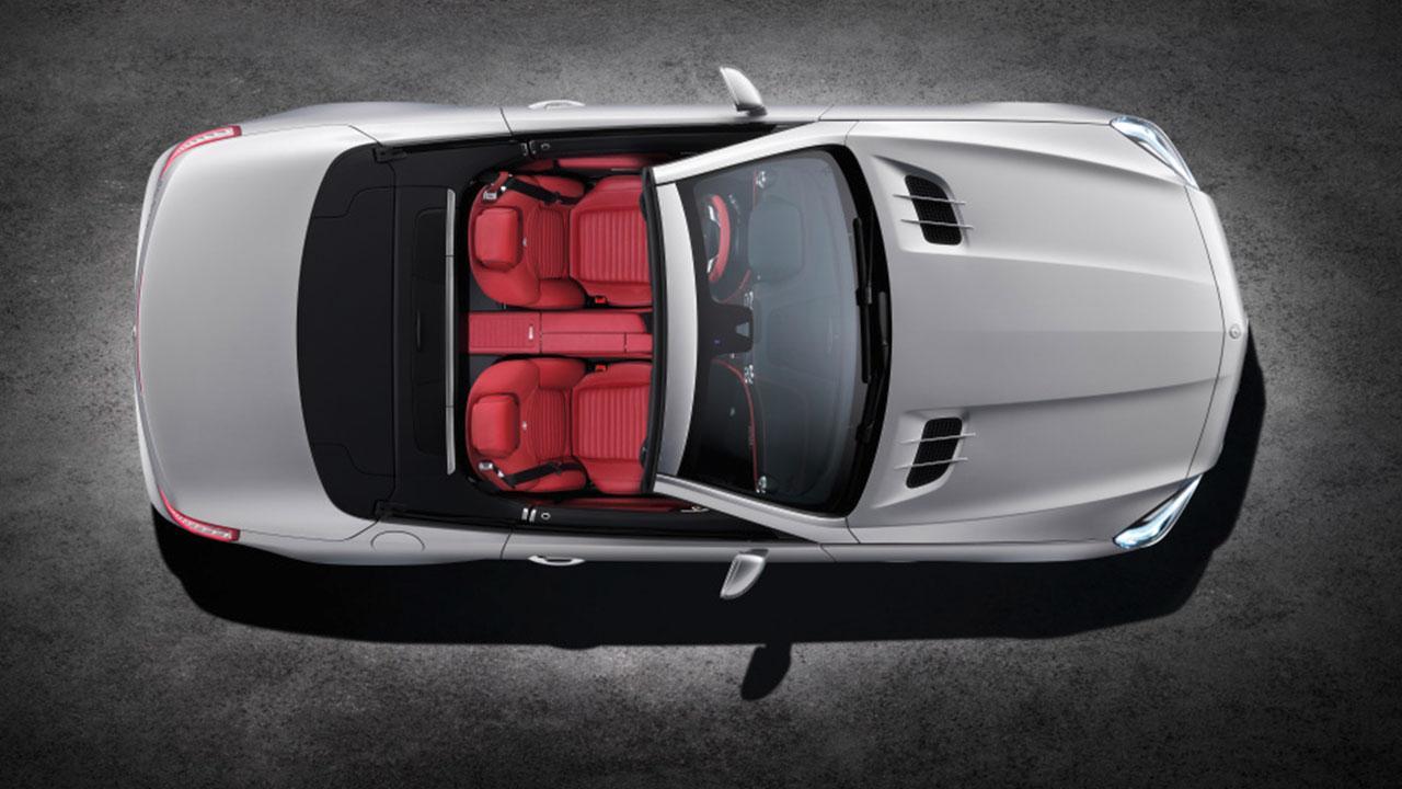 Mercedes-Benz SL-Klasse - Ansicht von Oben