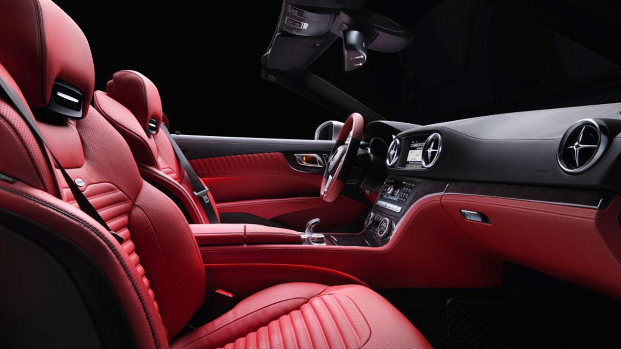 Mercedes-Benz SL-Klasse - Vordersitze