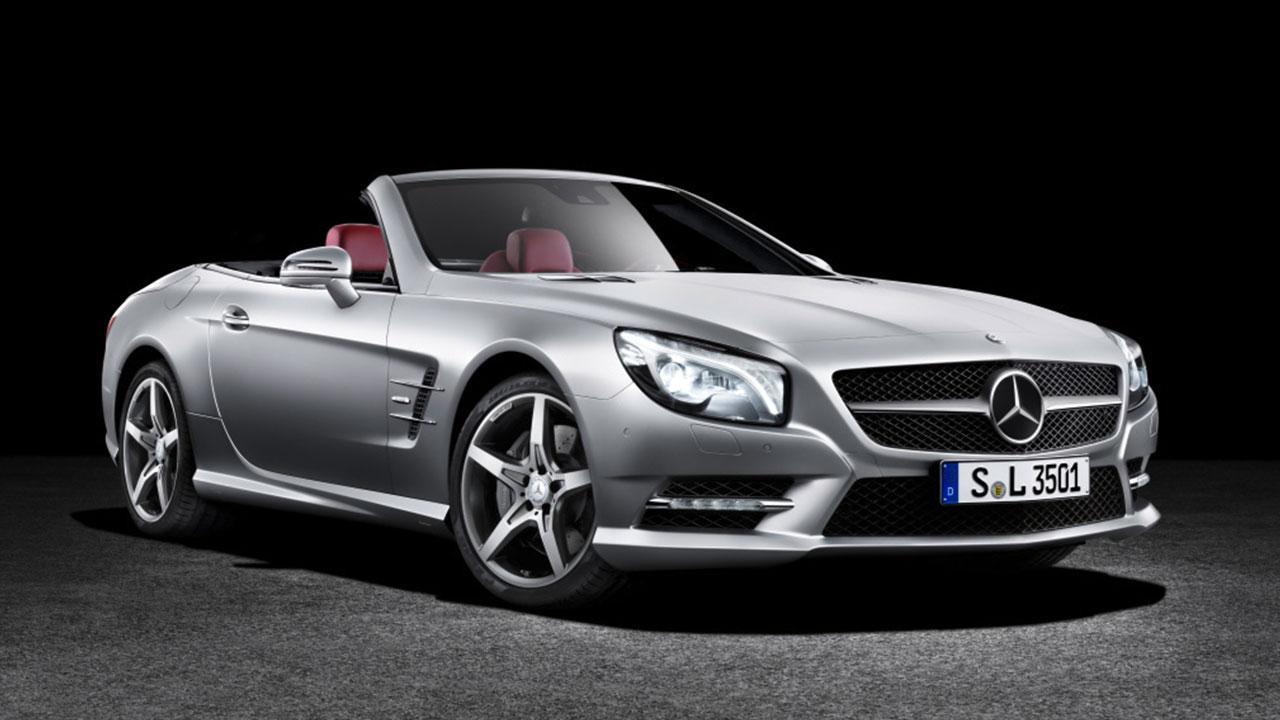Mercedes-Benz SL-Klasse - Seitenansicht
