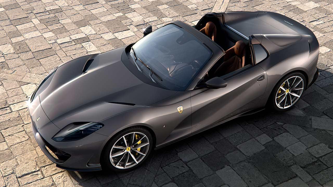 Ferrari 812 GTS - Vogelsperspektive