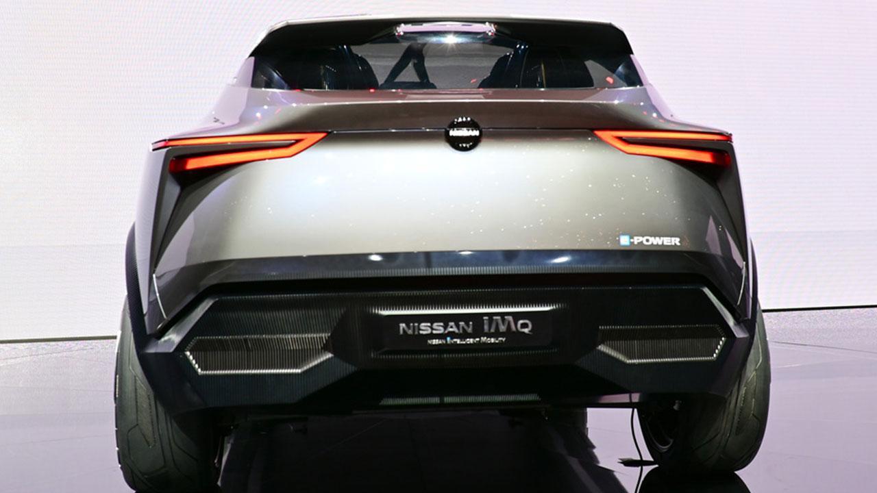 Nissan IMQ Concept - Heckansicht