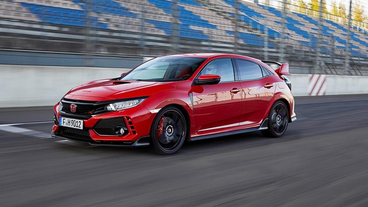 Honda Civic Type R - auf der Rennstrecke