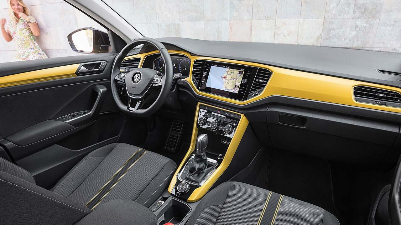 Volkswagen T-Roc - Cockpit