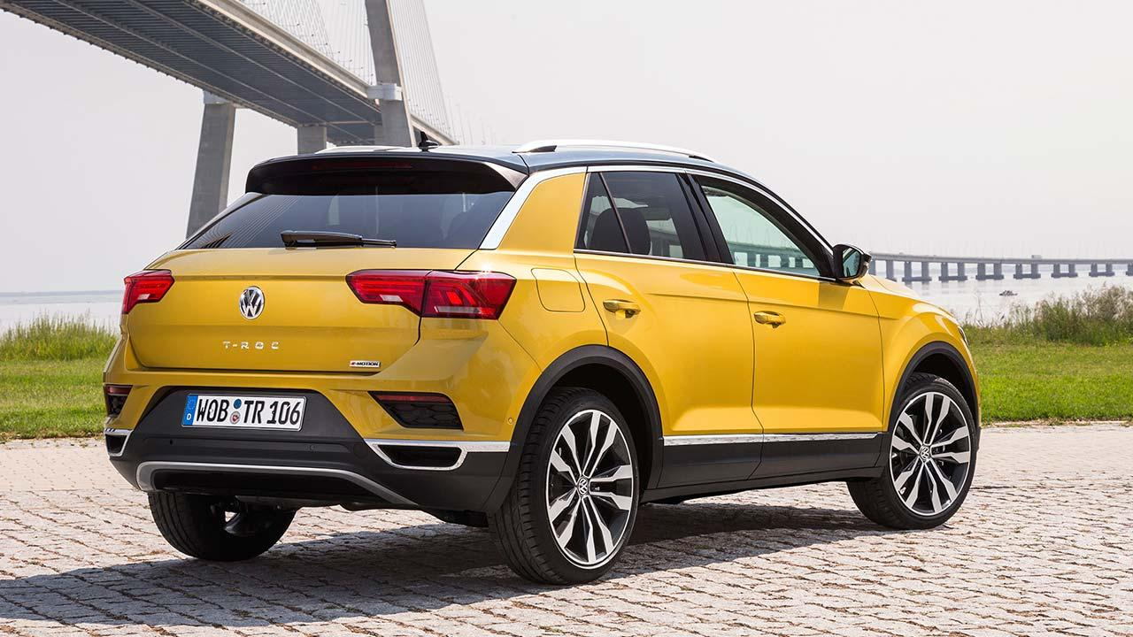 Volkswagen T-Roc - Heckansicht