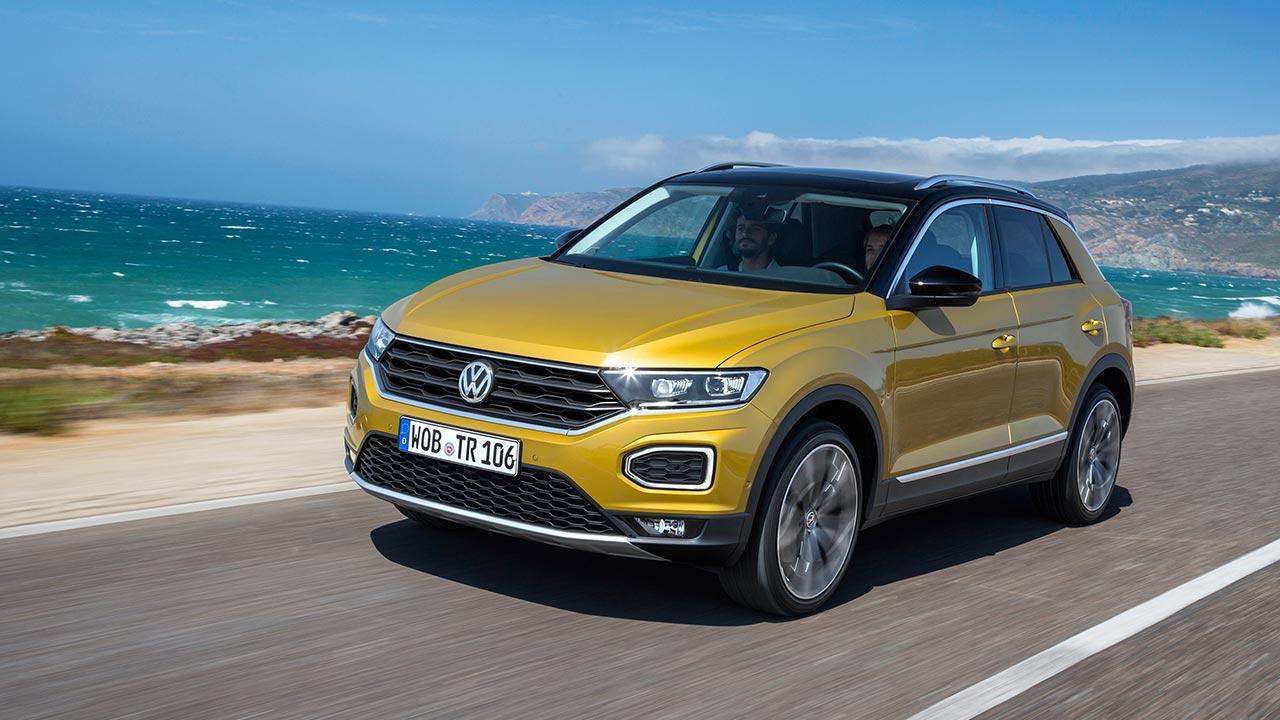 Volkswagen T-Roc - auf der Landstraße