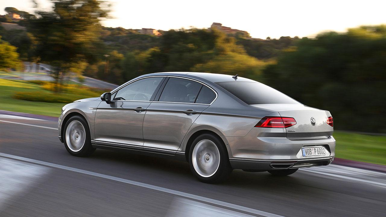Volkswagen Passat - Heckansicht
