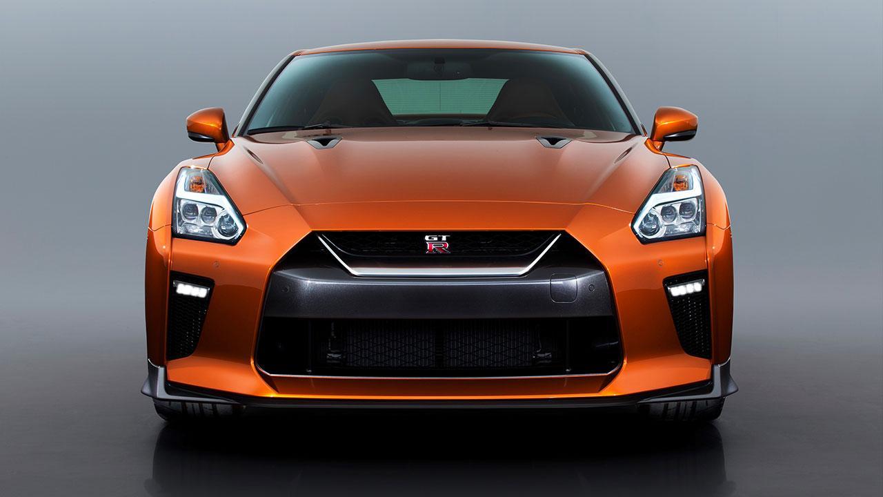 Nissan GT-R - Frontansicht