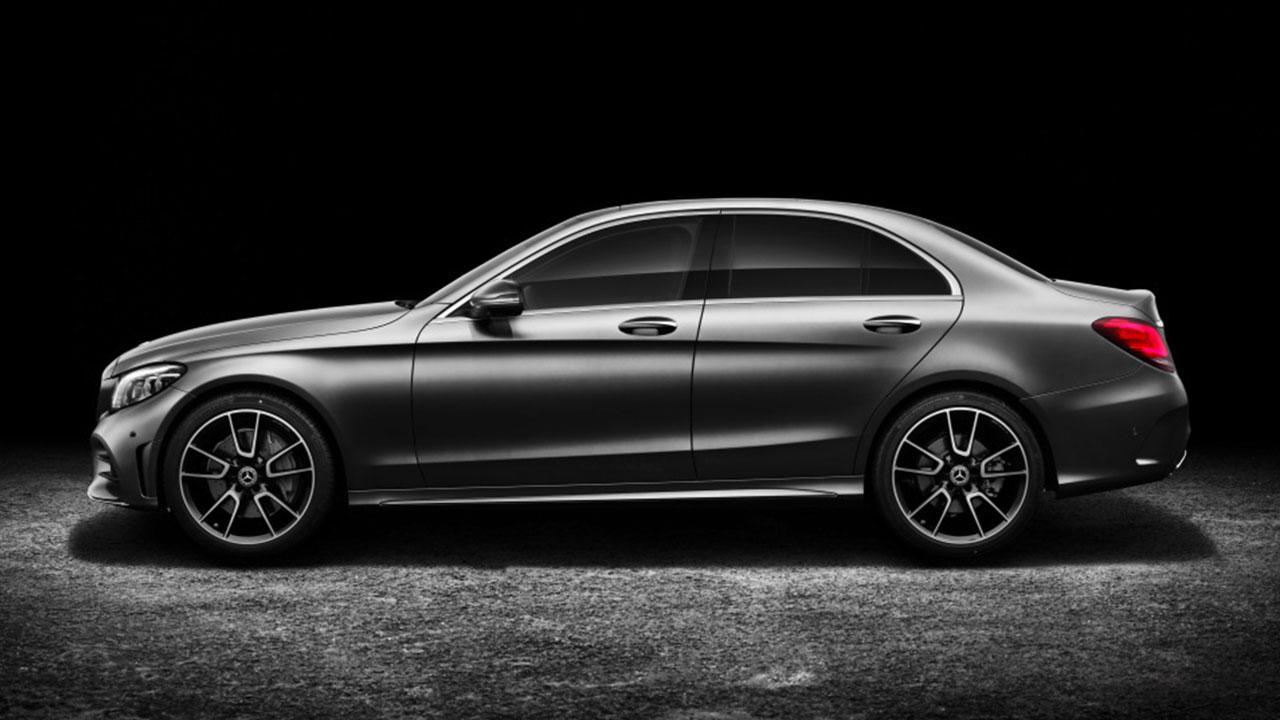 Mercedes-Benz C-Klasse - Seitenansicht