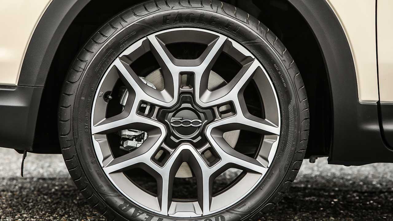 Fiat 500X - Rad & Felge
