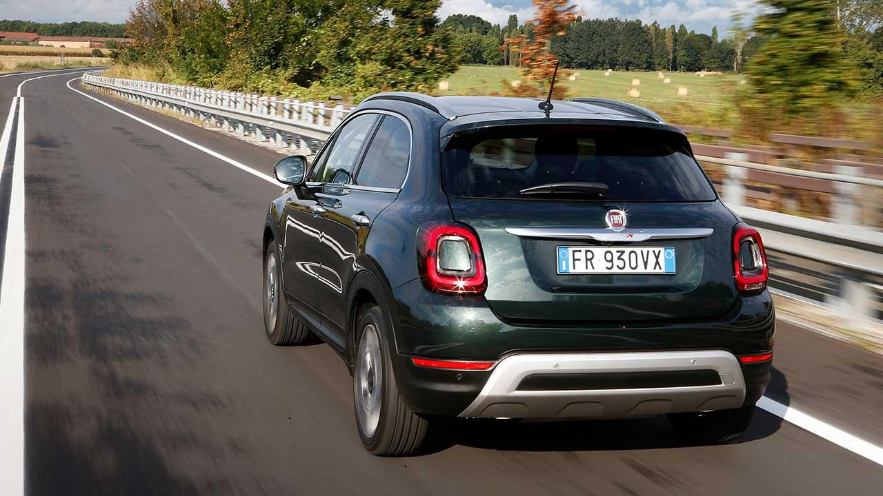 Fiat 500X - Heckansicht