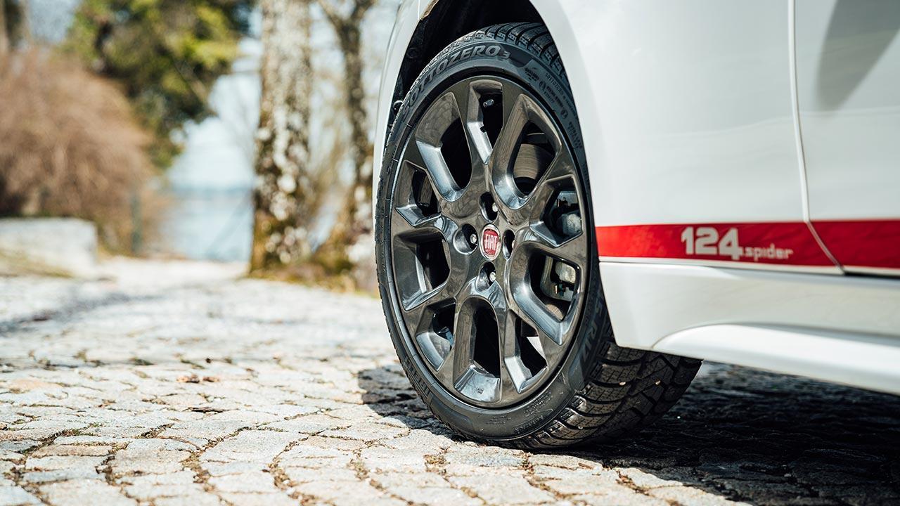 Fiat 124 Spider - Alufelgen mit Schriftzug