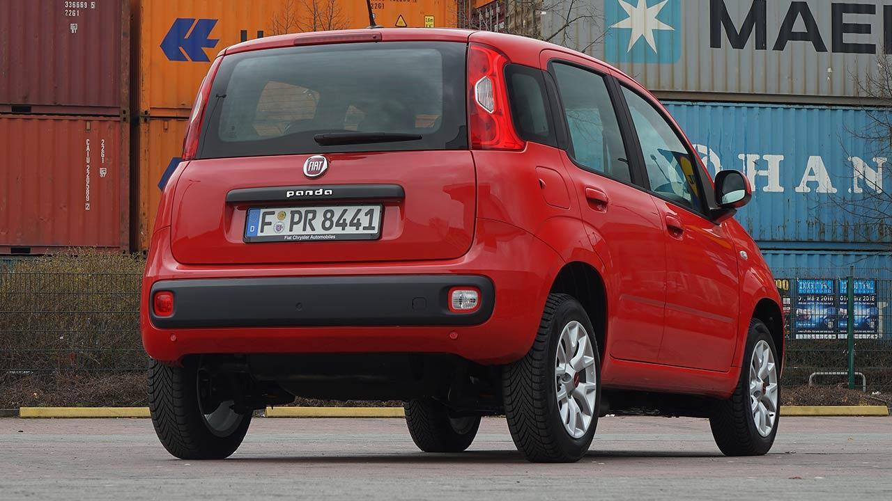 Fiat Panda - Heckansicht