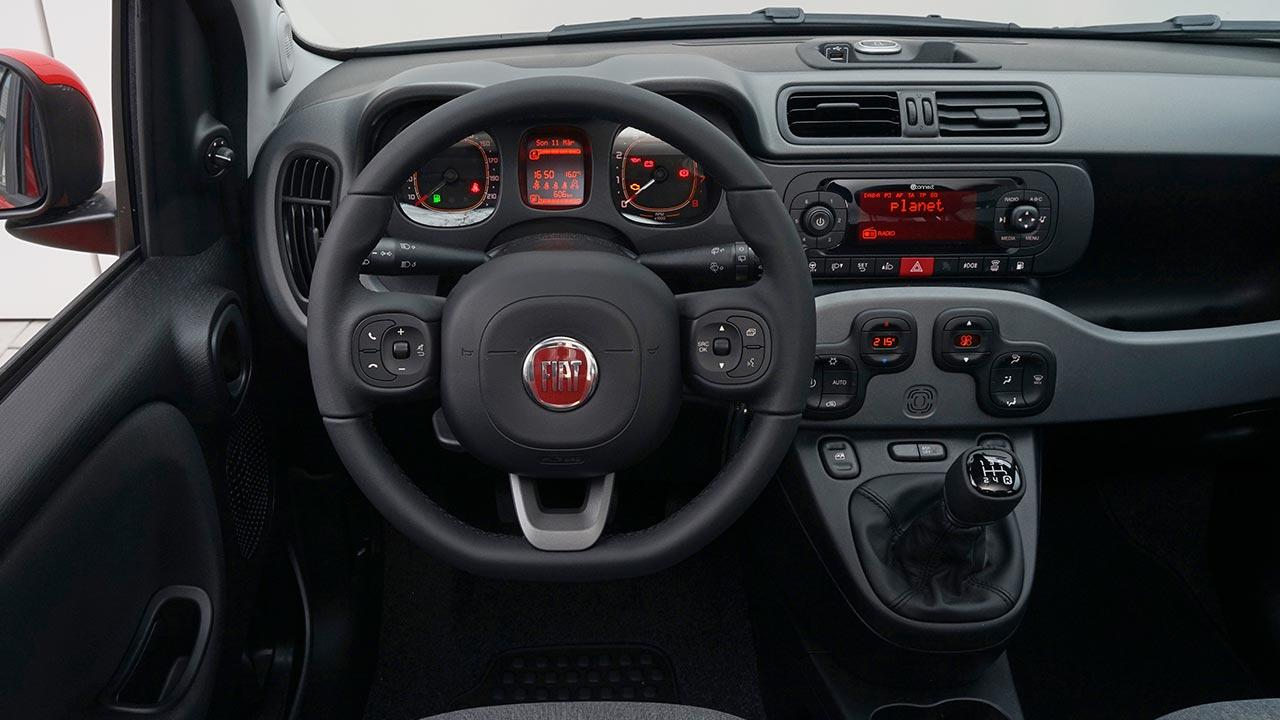 Fiat Panda - Cockpit