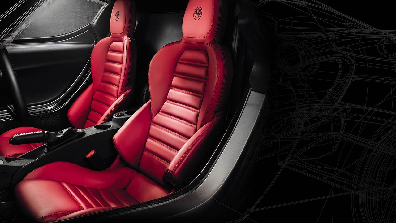 Alfa Romeo 4C - Vordersitze