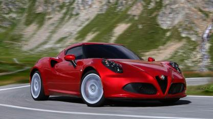 Alfa Romeo 4C - Seitenansicht