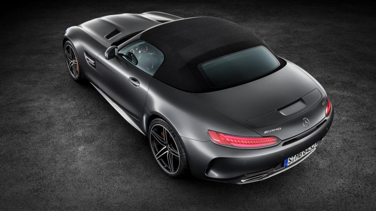 Mercedes-Benz AMG GT Roadster - Ansicht von Oben