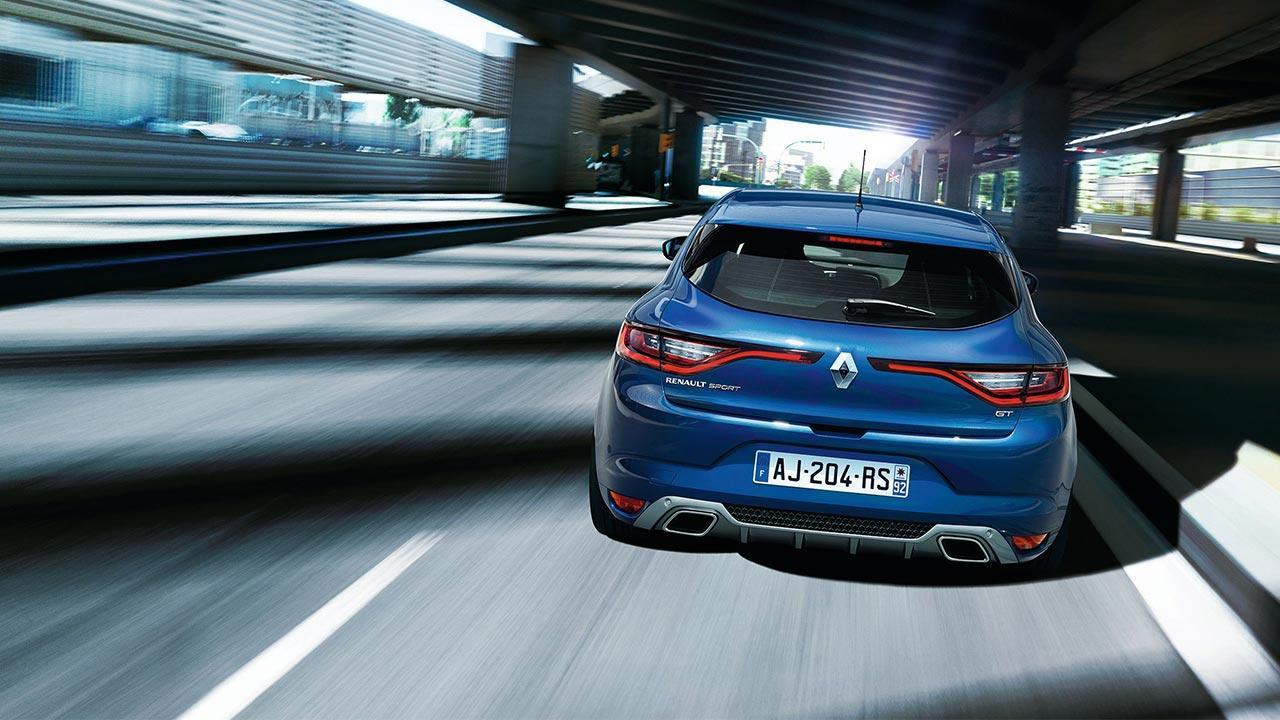 Renault Mégane - im Verkehr