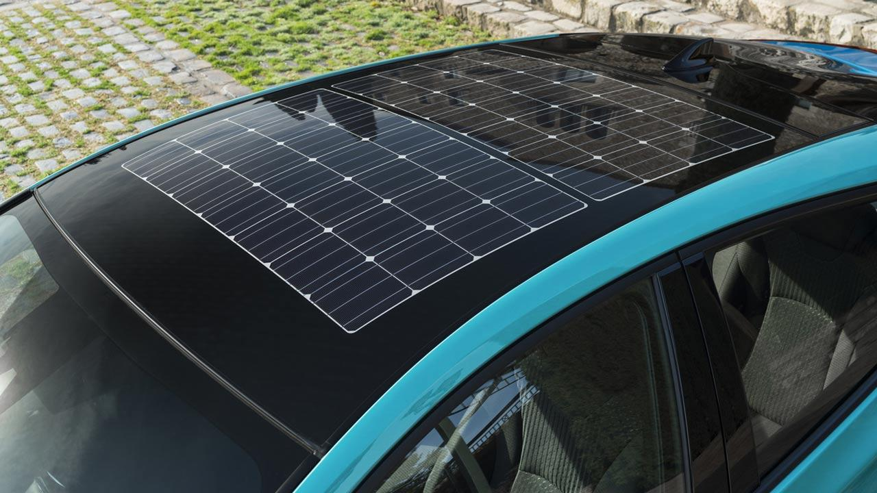 Toyota Prius Plug-in Hybrid - Sonnenkollektoren