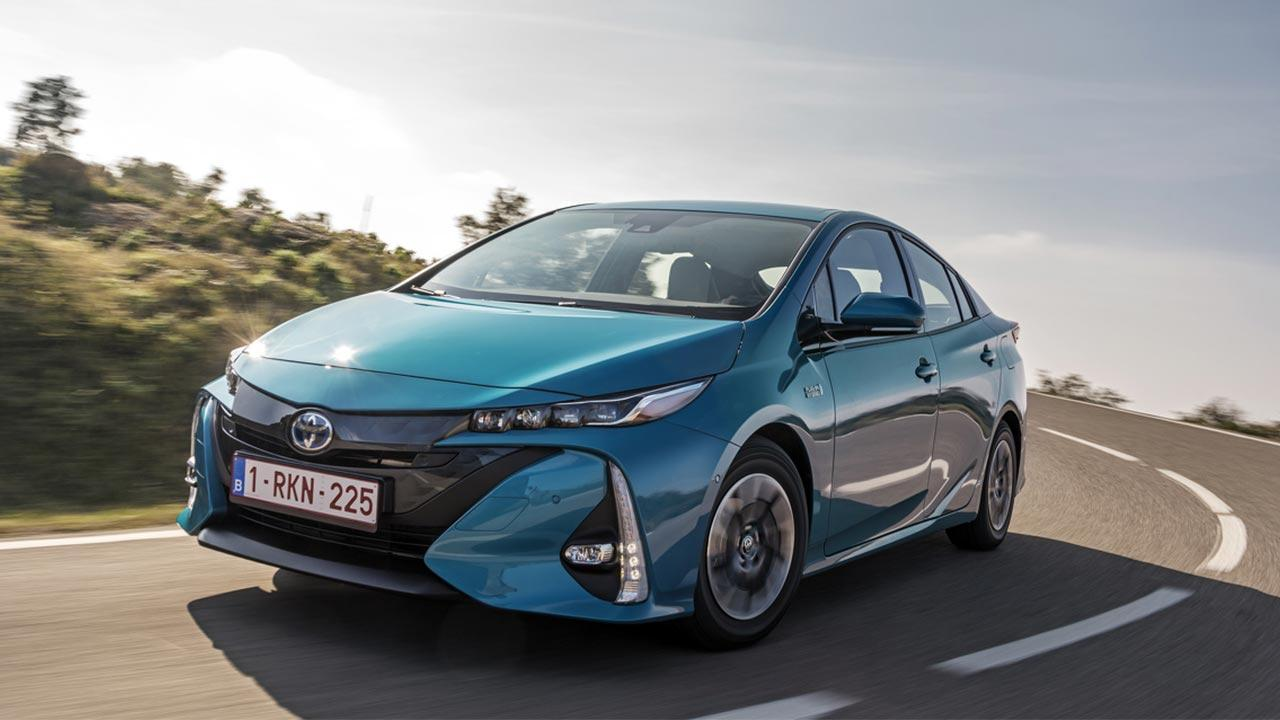 Toyota Prius Plug-in Hybrid - Frontansicht
