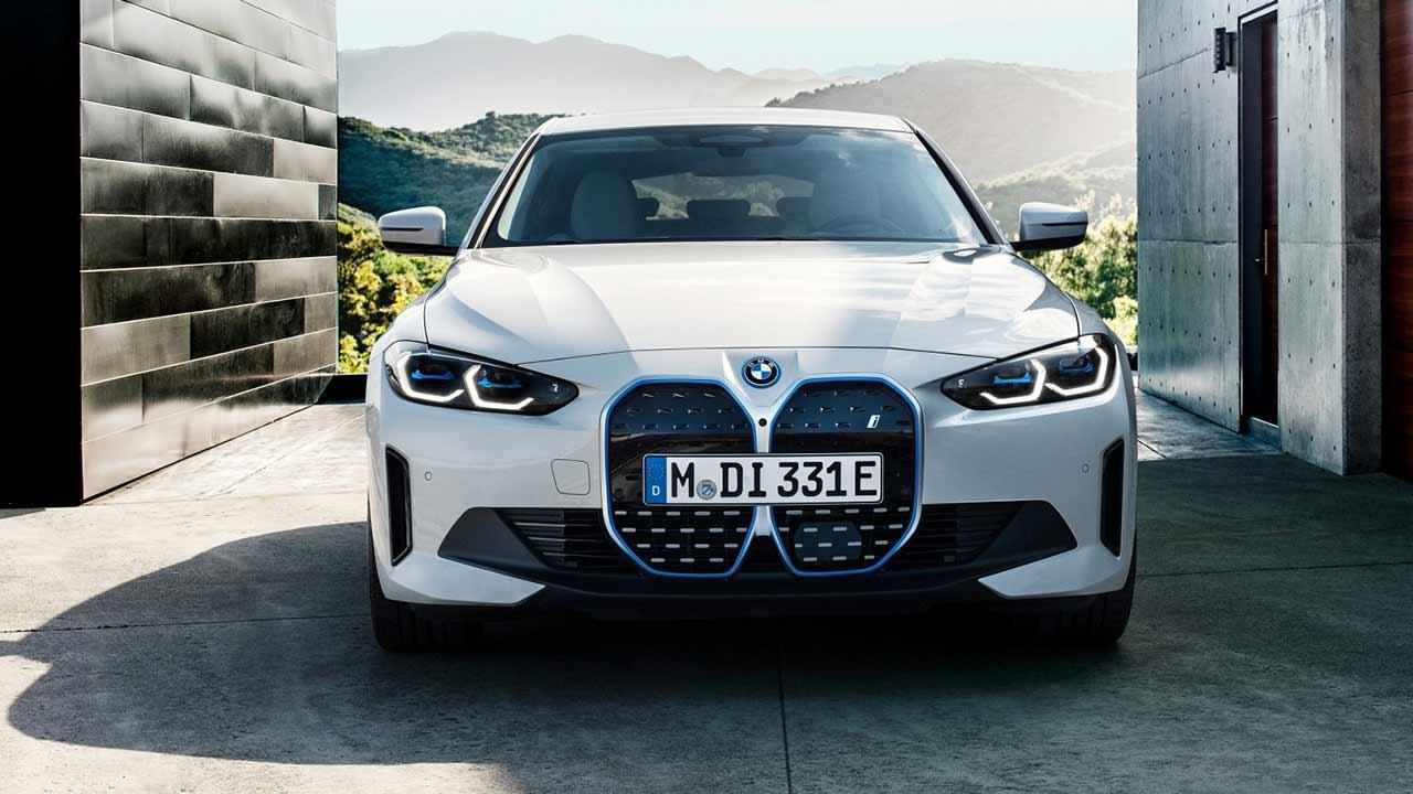 Der BMW i4 - Frontansicht