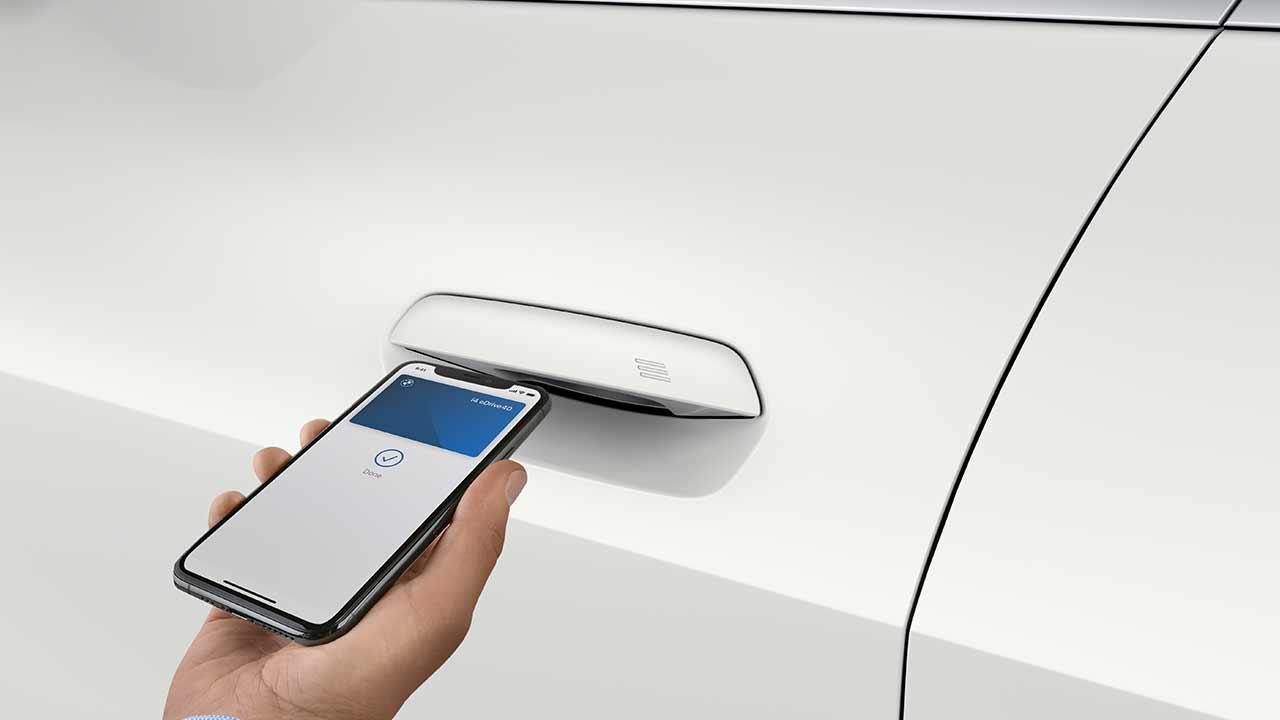 Der BMW i4 - die App