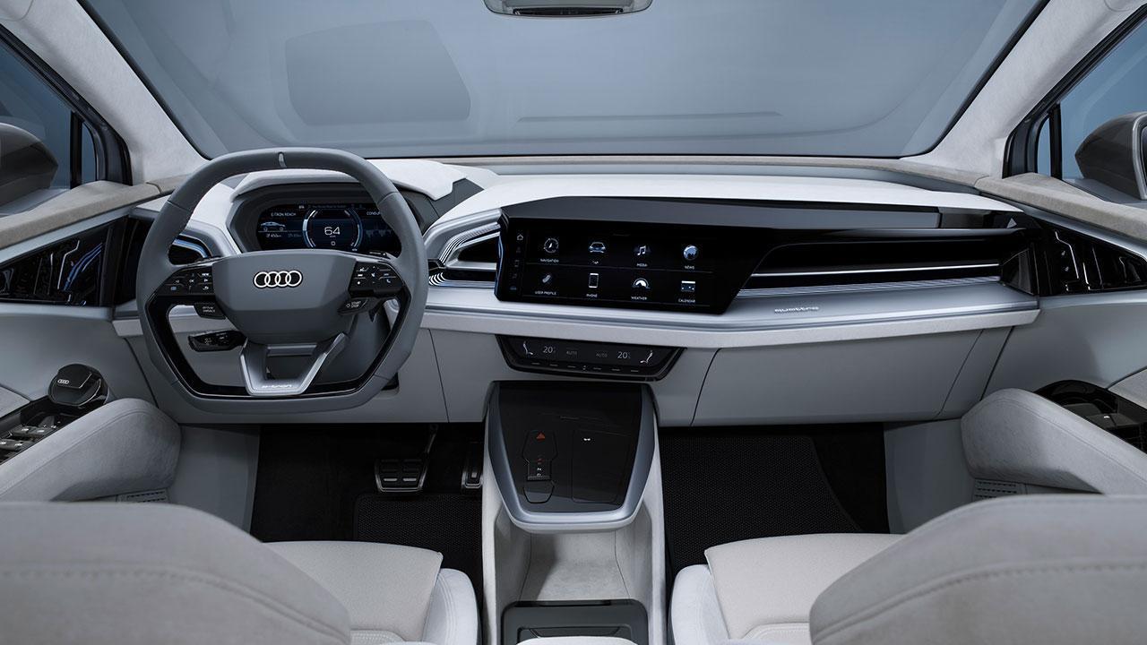 Audi Q4 Sportback e-tron Concept - Cockpit