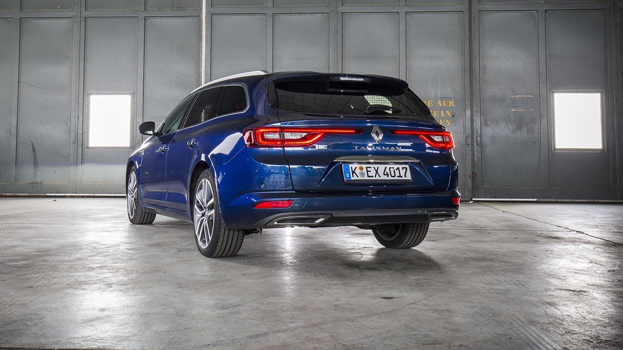 Renault Talisman - Heckansicht vom Kombi