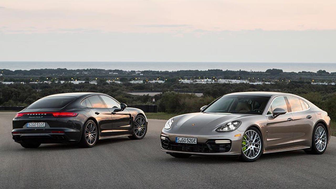 Porsche Panamera Turbo S E-Hybrid - neue Farben