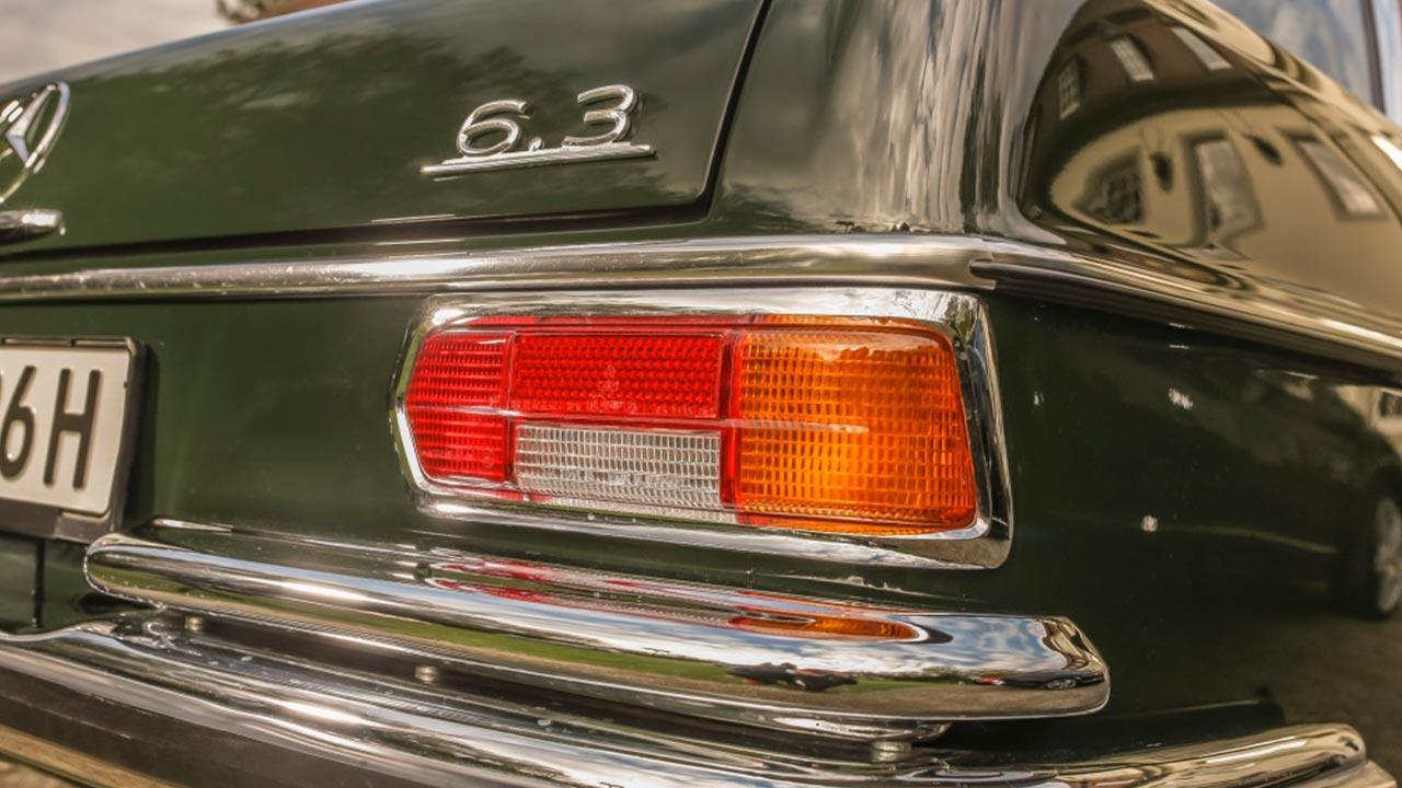 Mercedes-Benz 300 SEL 6.3 - Heckansicht