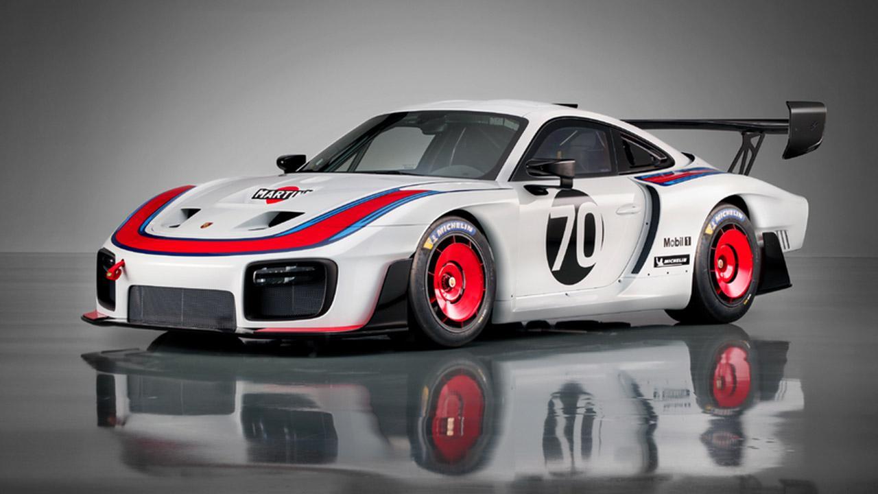 Porsche 935 991.2 - seitliche Frontansicht