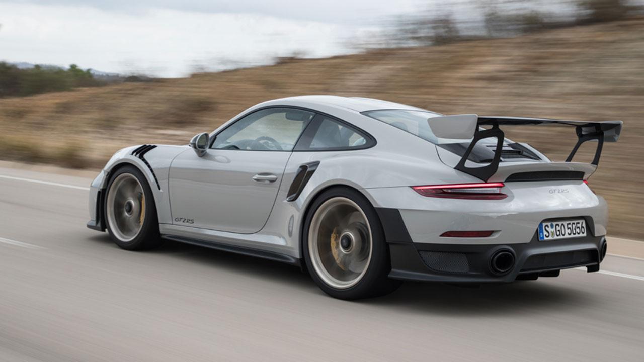 Porsche 911 GT2 RS - Seitenansicht