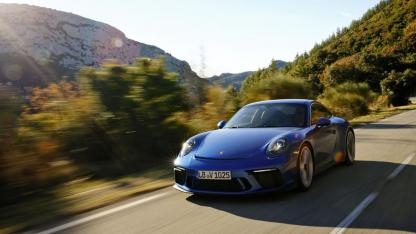 Porsche 911 GT3 - auf der Landstraße