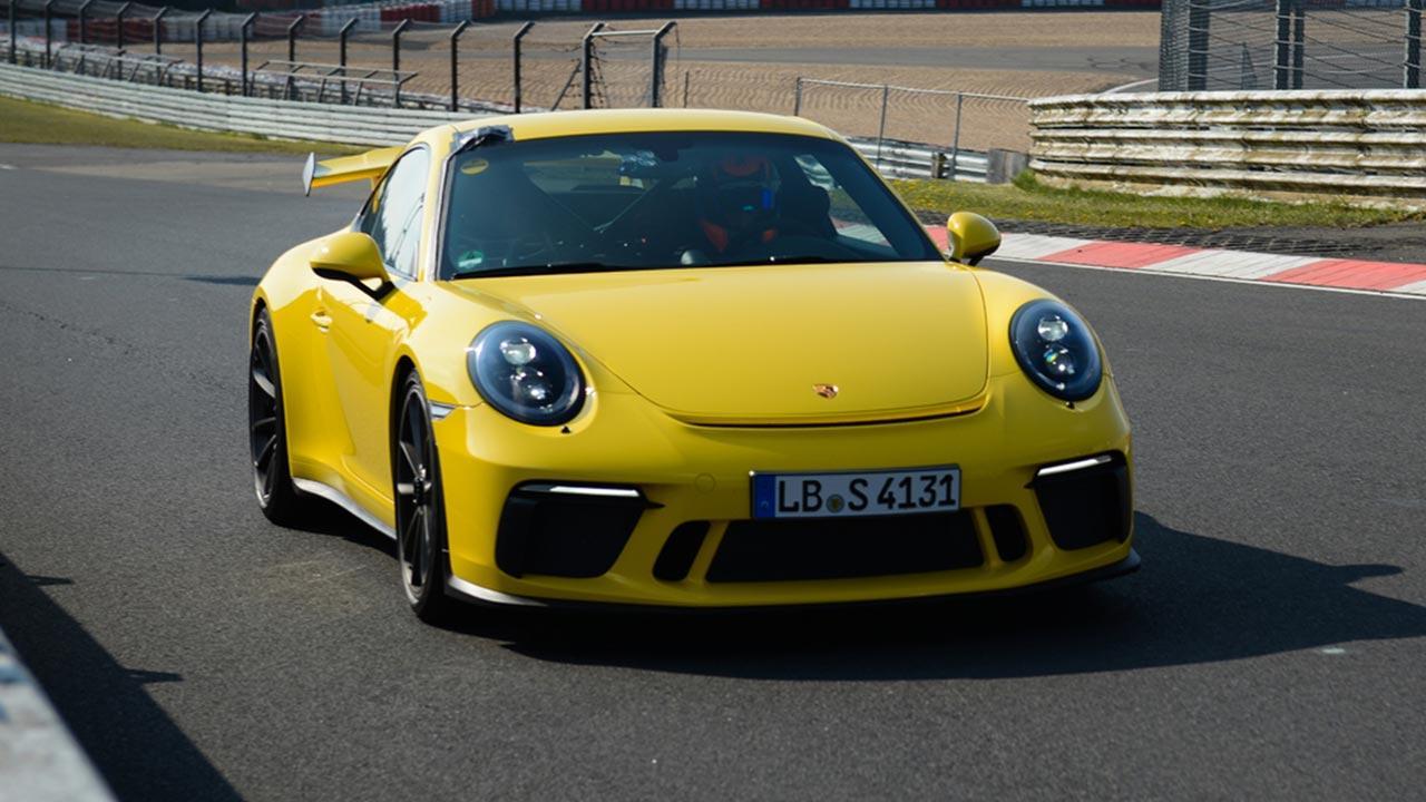 Porsche 911 GT3 - auf der Rennstreck