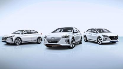 Hyundai Ioniq Hybrid - Modell Palette