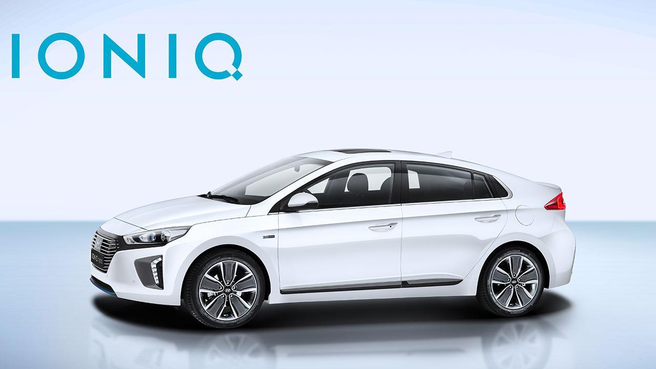 Hyundai Ioniq Hybrid - Seitenansicht