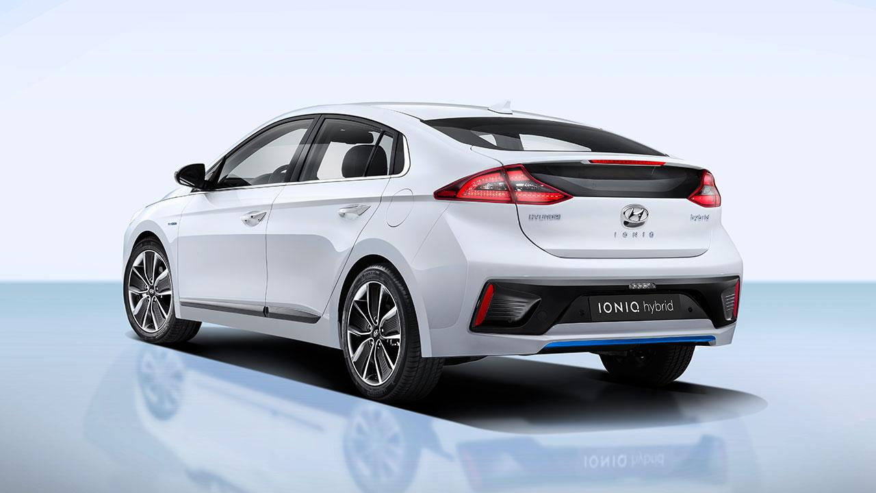 Hyundai Ioniq Hybrid - Heckansicht