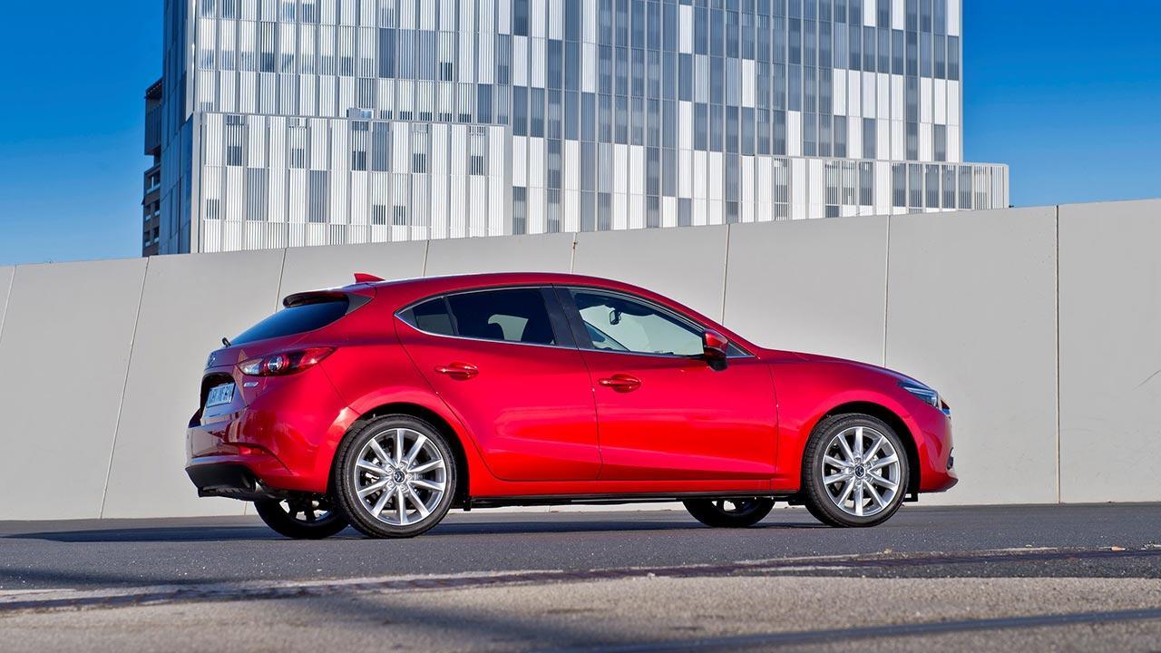 Mazda3 Sport - Seitenansicht