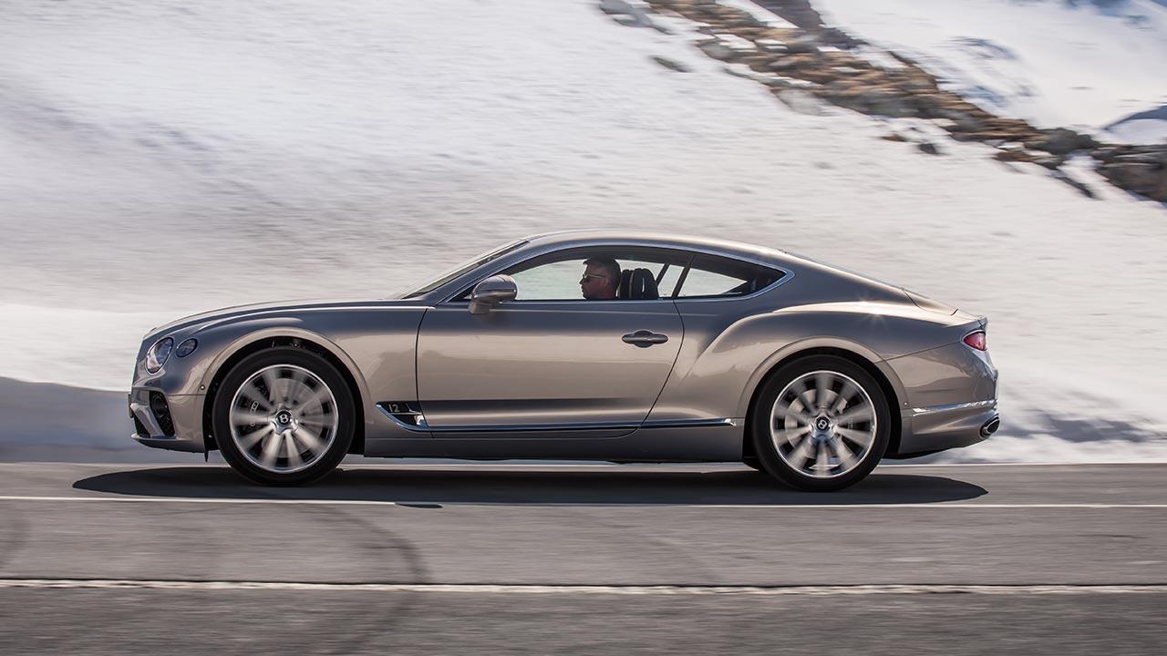 Bentley Continental GT - Seitenansicht