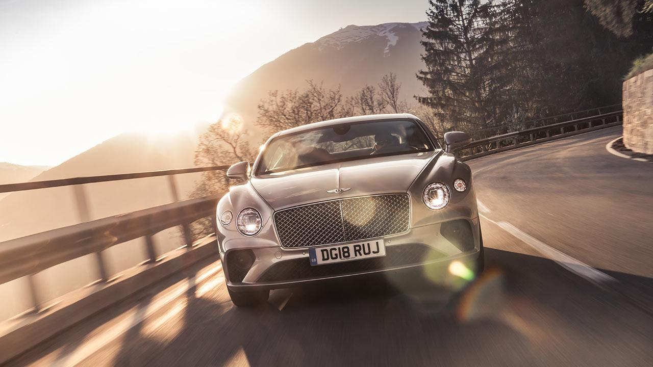 Bentley Continental GT - Frontansicht