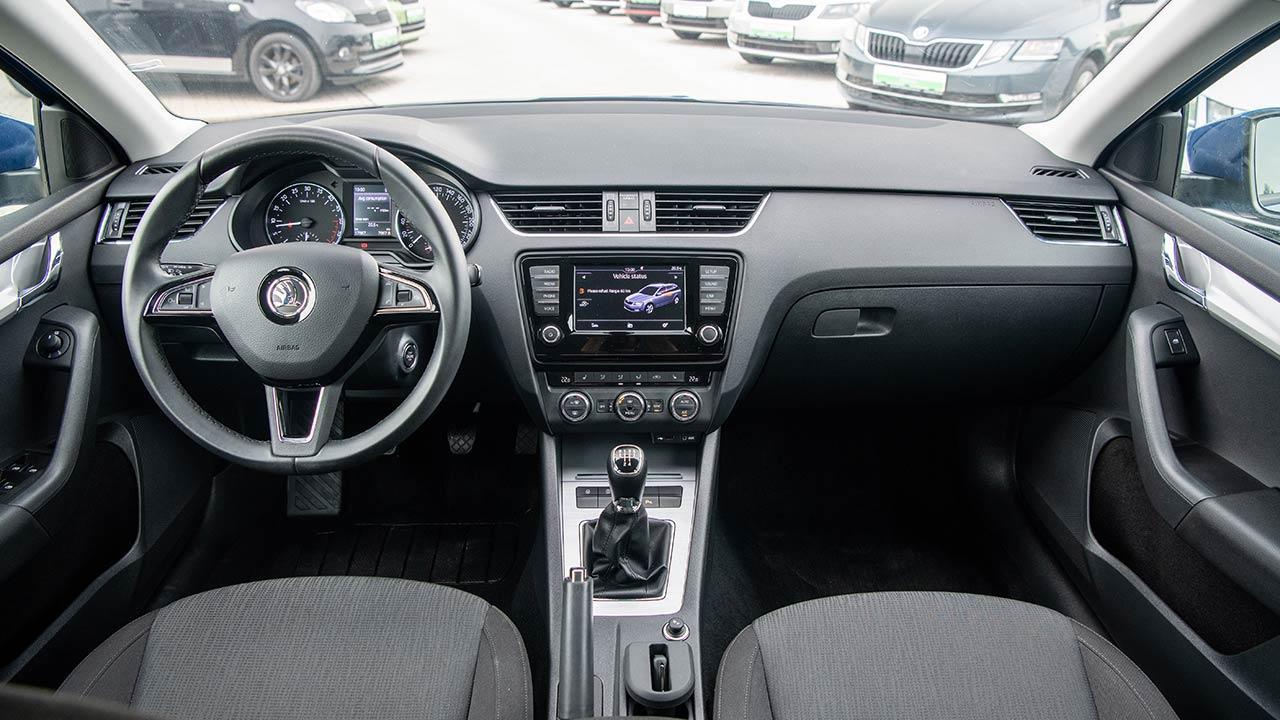 Skoda Octavia Combi - Cockpit