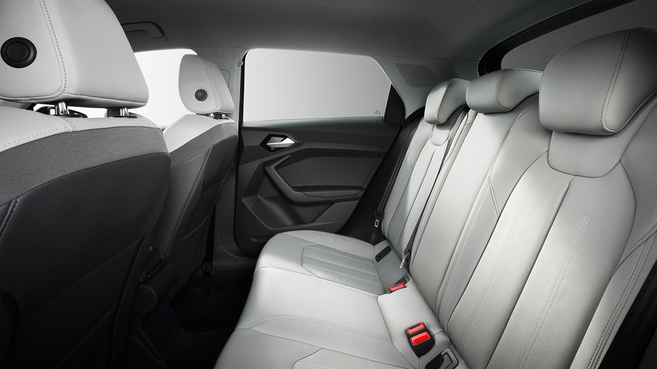 Audi A1 Sportback 2018 - Rücksitze