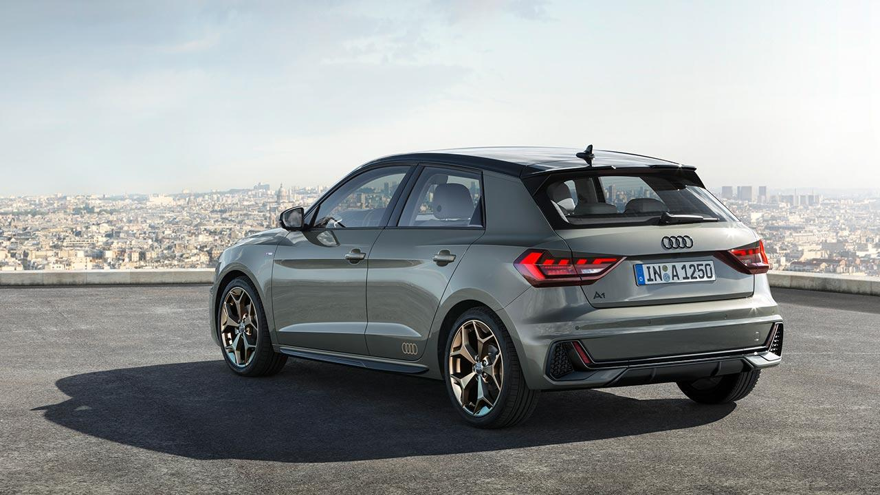 Audi A1 Sportback 2018 - Heckansicht