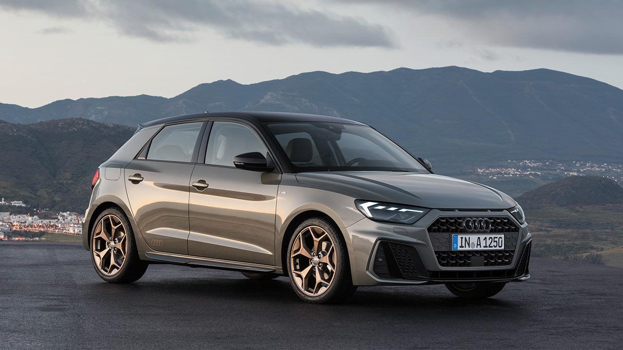 Audi A1 Sportback 2018 - Seitenansicht