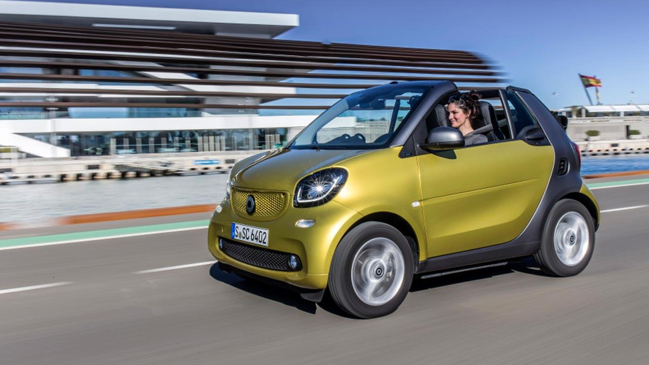 Smart Fortwo Cabrio - auf der Rennstrecke