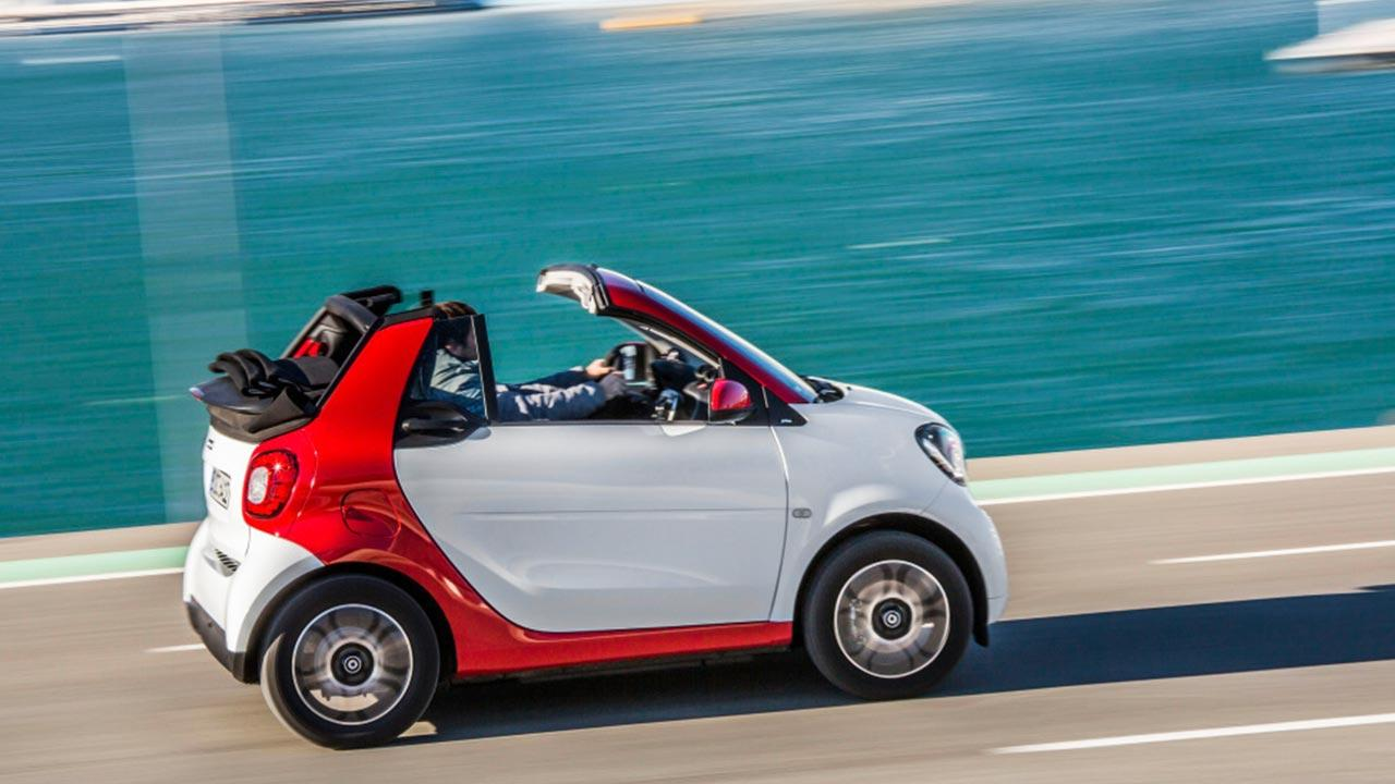 Smart Fortwo Cabrio - am Meer