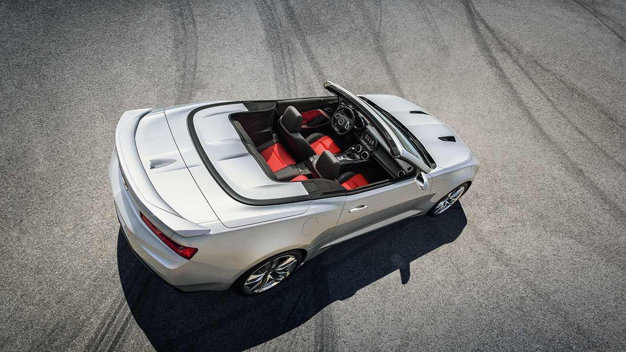 Chevrolet Camaro Cabrio - Anblick von Oben