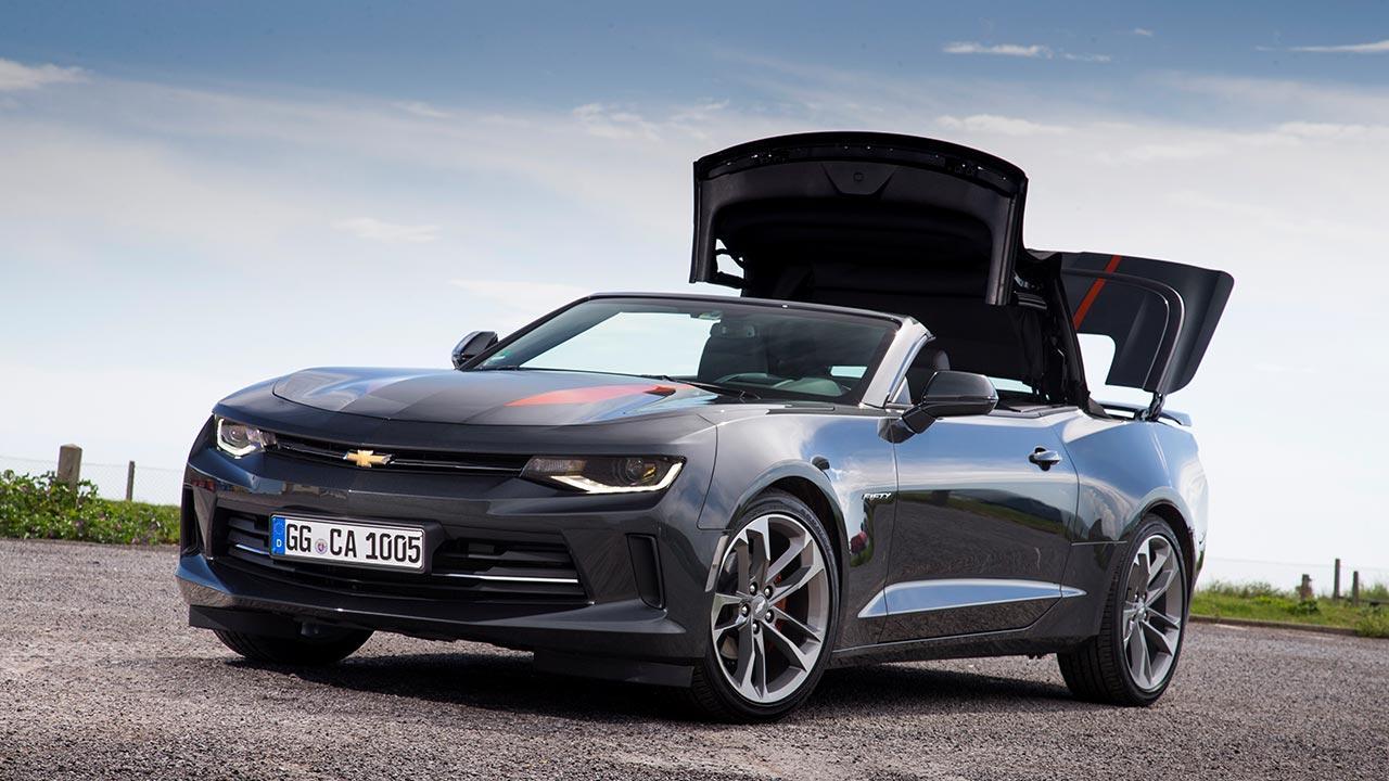 Chevrolet Camaro Cabrio - offenes Verdeck