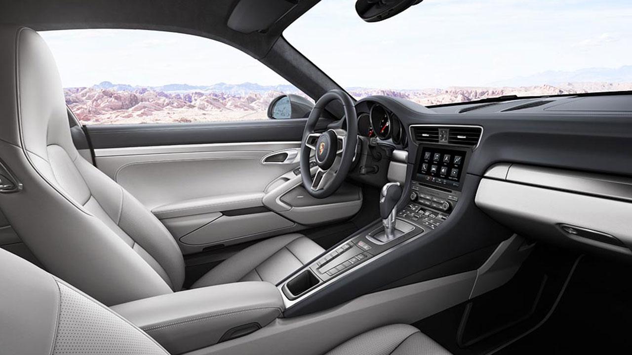 Porsche 911 Carrera - Innenansicht